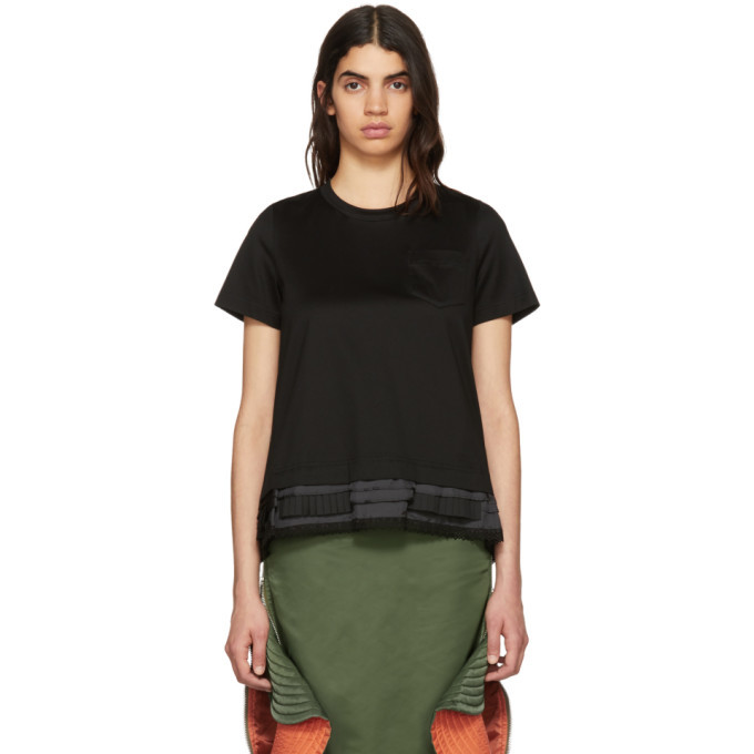 Sacai Black Trim T-Shirt