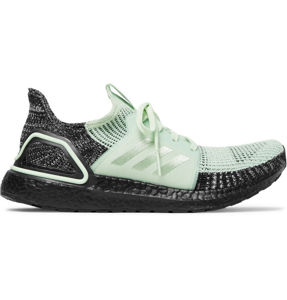 Photo: Adidas Sport - UltraBOOST 19 Rubber-Trimmed Primeknit Running Sneakers - Mint