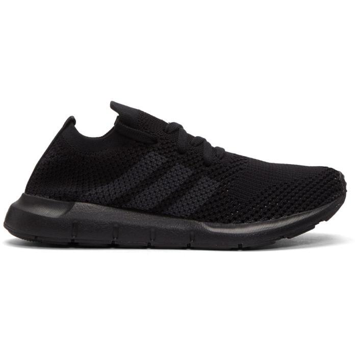 adidas Originals Black Swift Run PK Sneakers