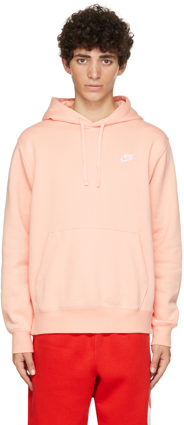 Photo: Nike Pink Fleece Sportswear Club Hoodie