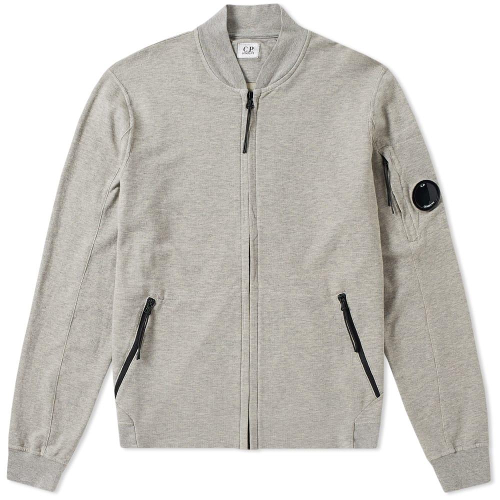 C.P. Company Garment Dyed Light Fleece Bomber