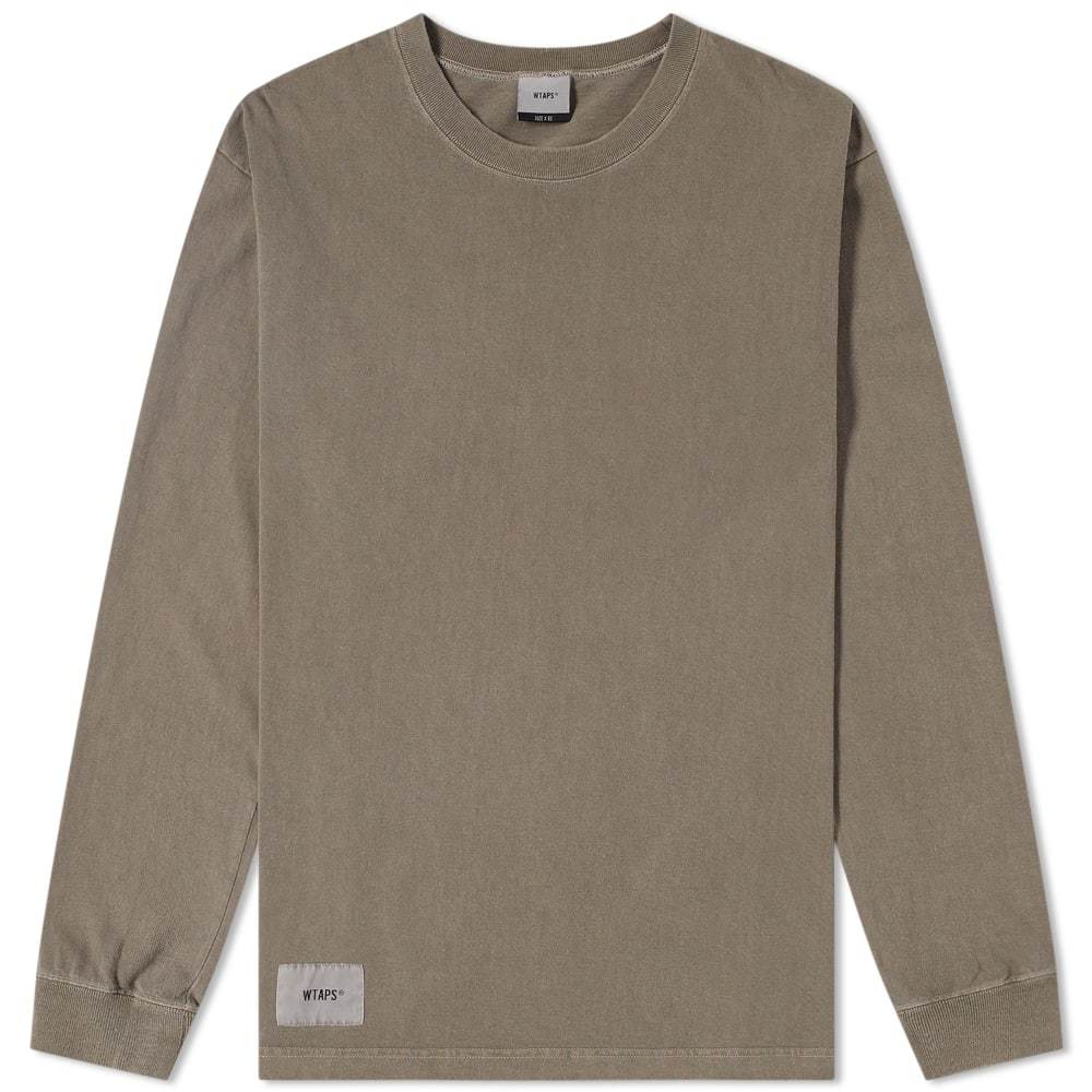 Photo: WTAPS Long Sleeve Design Spec Tee Green