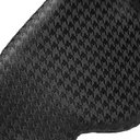 Charvet - Houndstooth Silk-Jacquard Eye Mask - Black