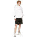 MCQ White Relaxed Hoodie