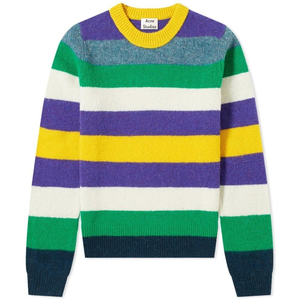 Photo: Acne Studios Kai Seasonal Stripe Wool Knit