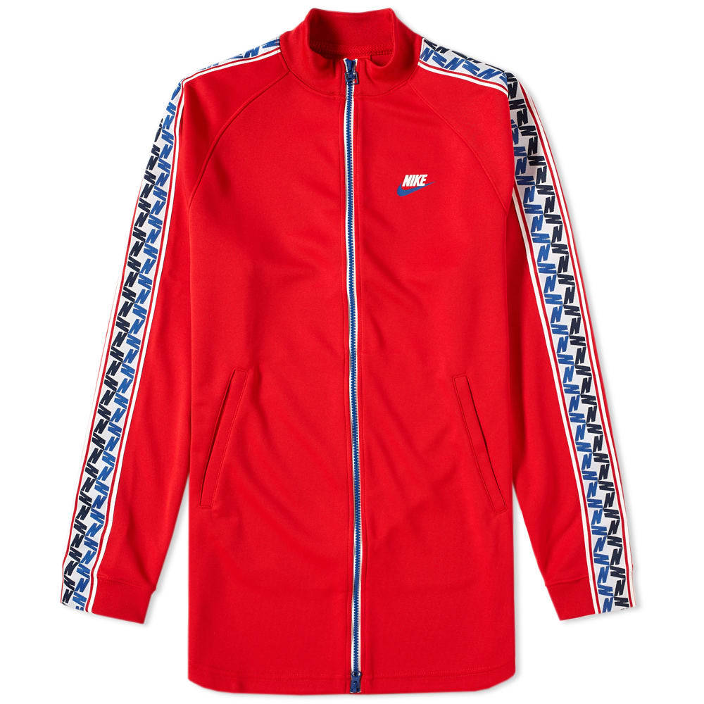 Photo: Nike Taped Poly Track Jacket Red