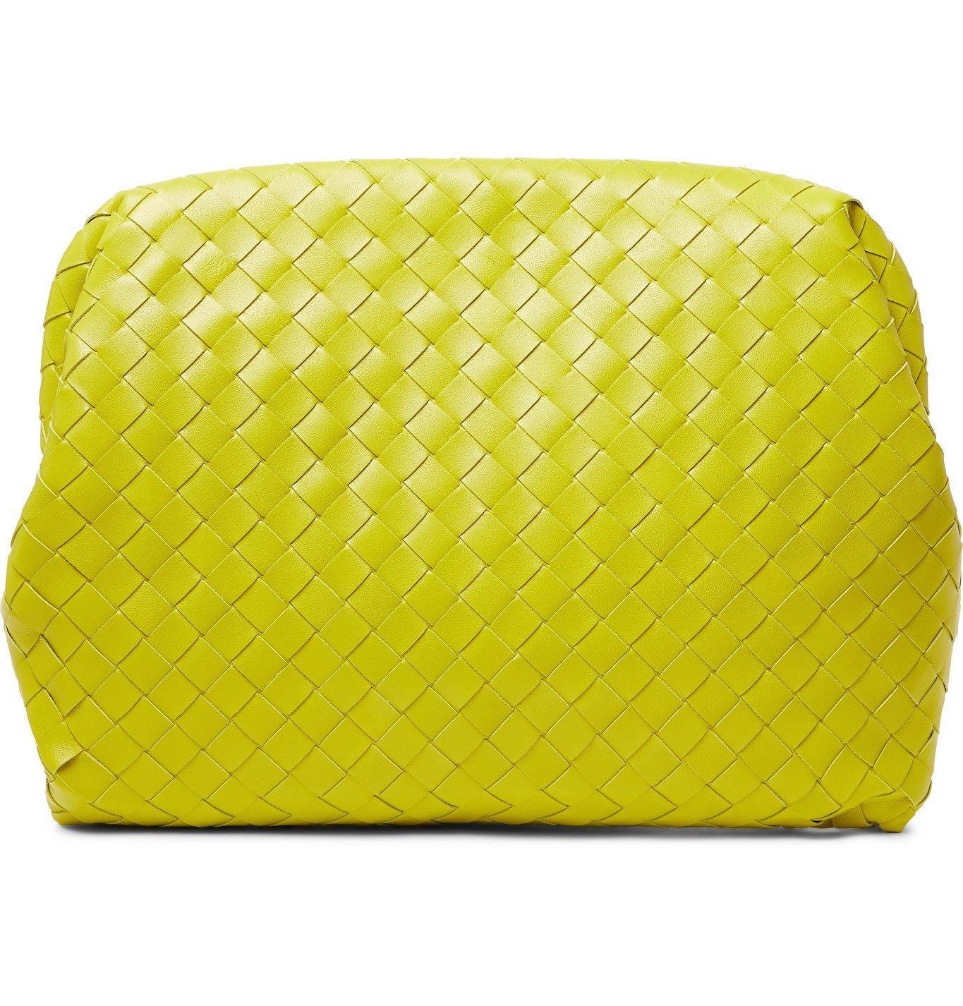 Photo: Bottega Veneta - Intrecciato Leather Pouch - Green
