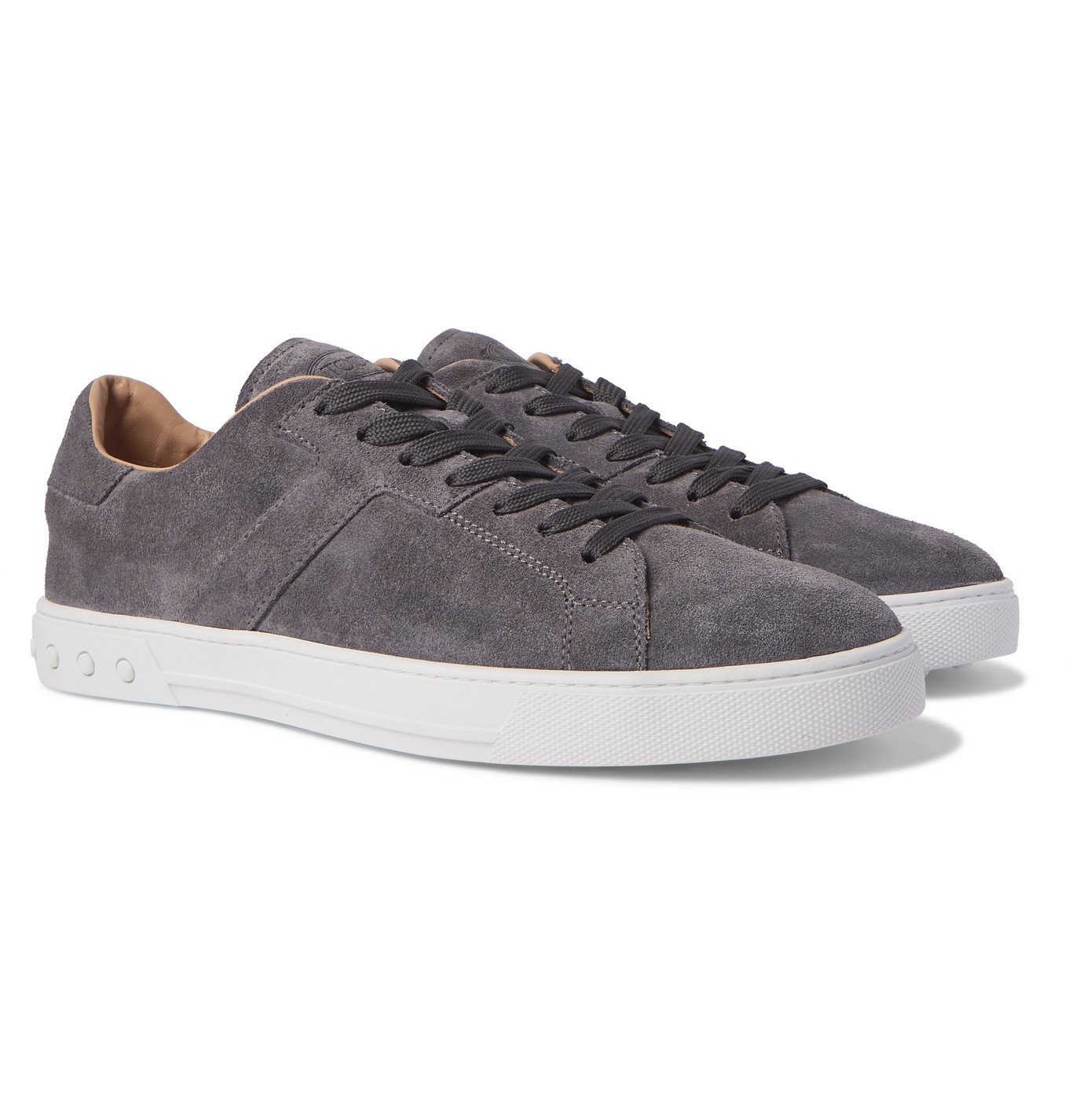 Photo: TOD'S - Suede Sneakers - Gray