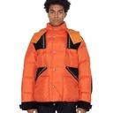 Sacai Ripstop Down Jacket Orange