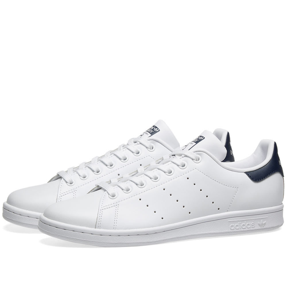 Adidas Stan Smith Running White & New Navy