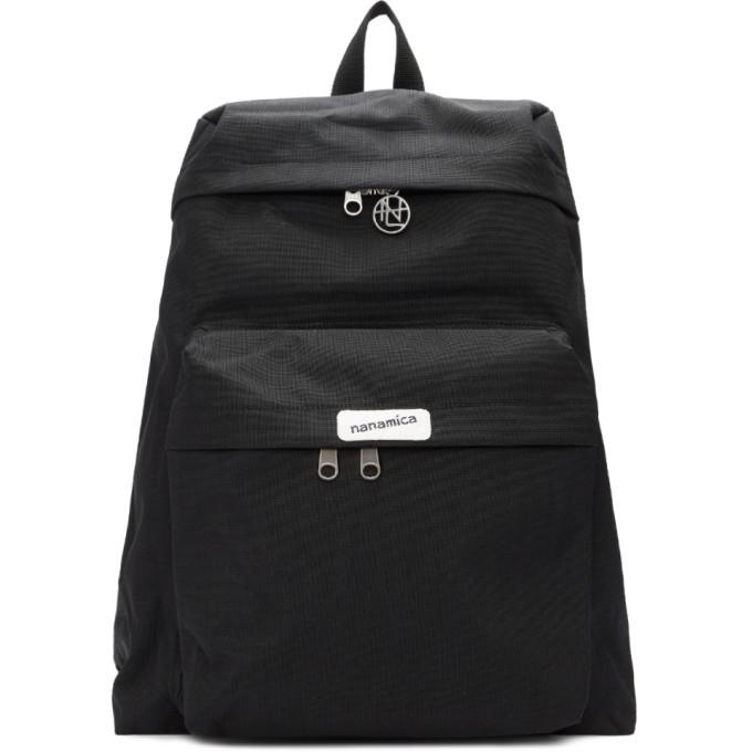 Photo: Nanamica Black Nanamican Day Backpack