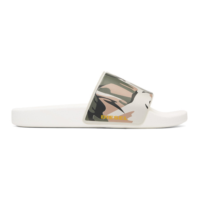 Photo: Diesel Khaki Sa-Maral Beach Slides