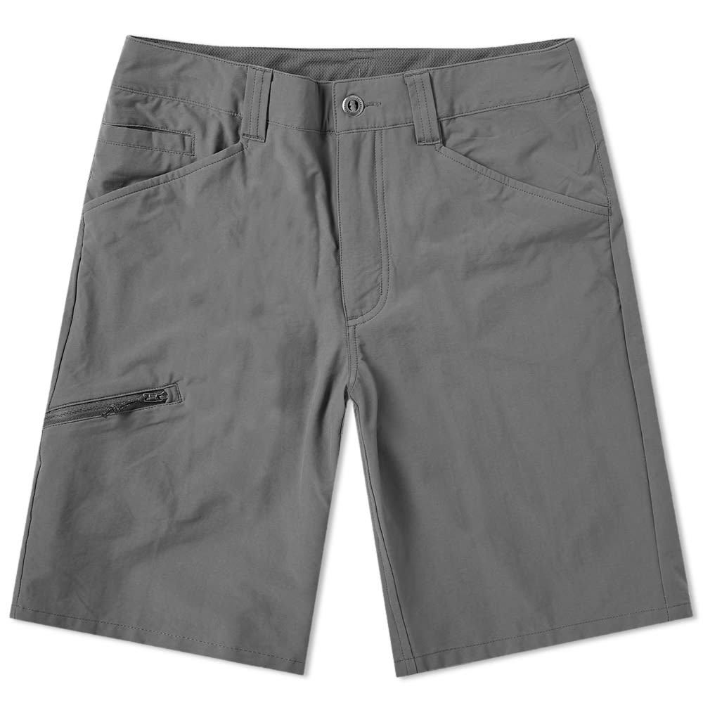 Photo: Patagonia Quandary Short Forge Grey