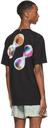 MCQ Black Relaxed Orbs T-Shirt
