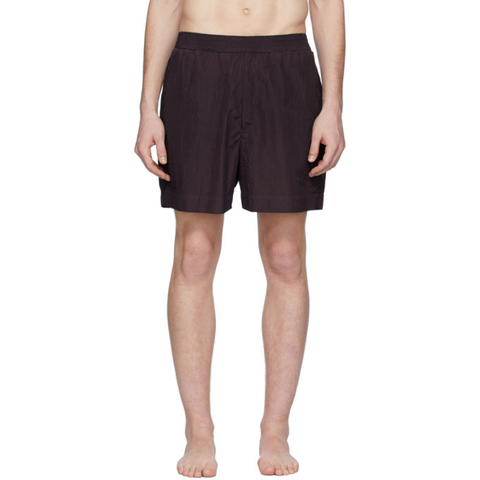 Photo: 1017 ALYX 9SM Purple Swim Shorts