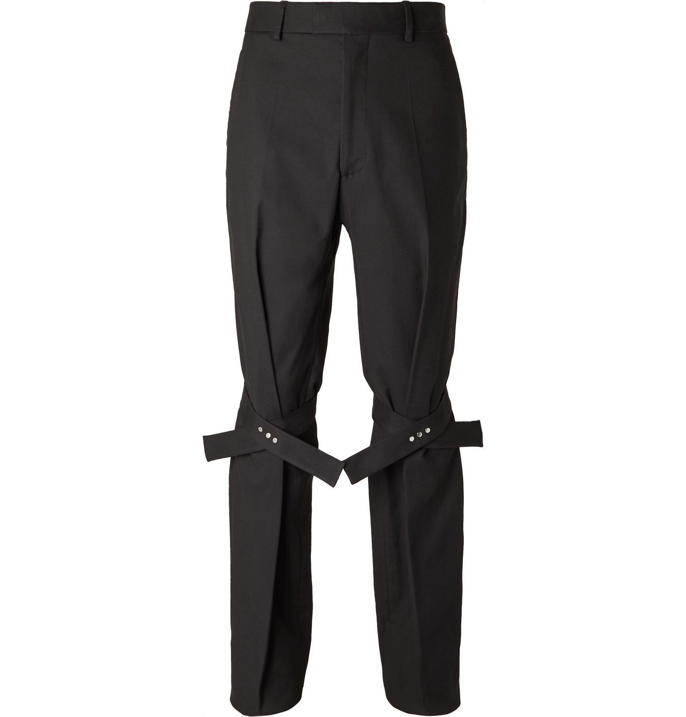 Photo: Bottega Veneta - Tie-Detailed Cotton-Blend Trousers - Unknown