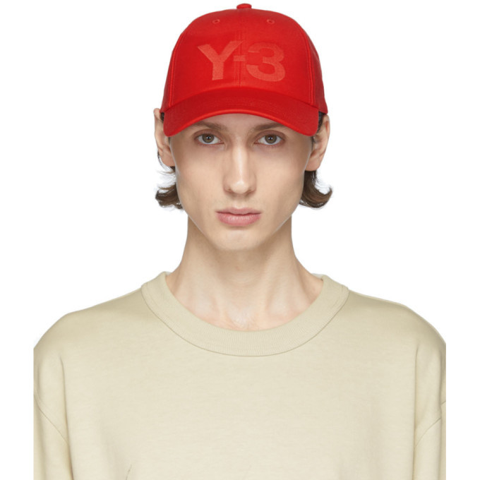 Photo: Y-3 Red Logo Cap