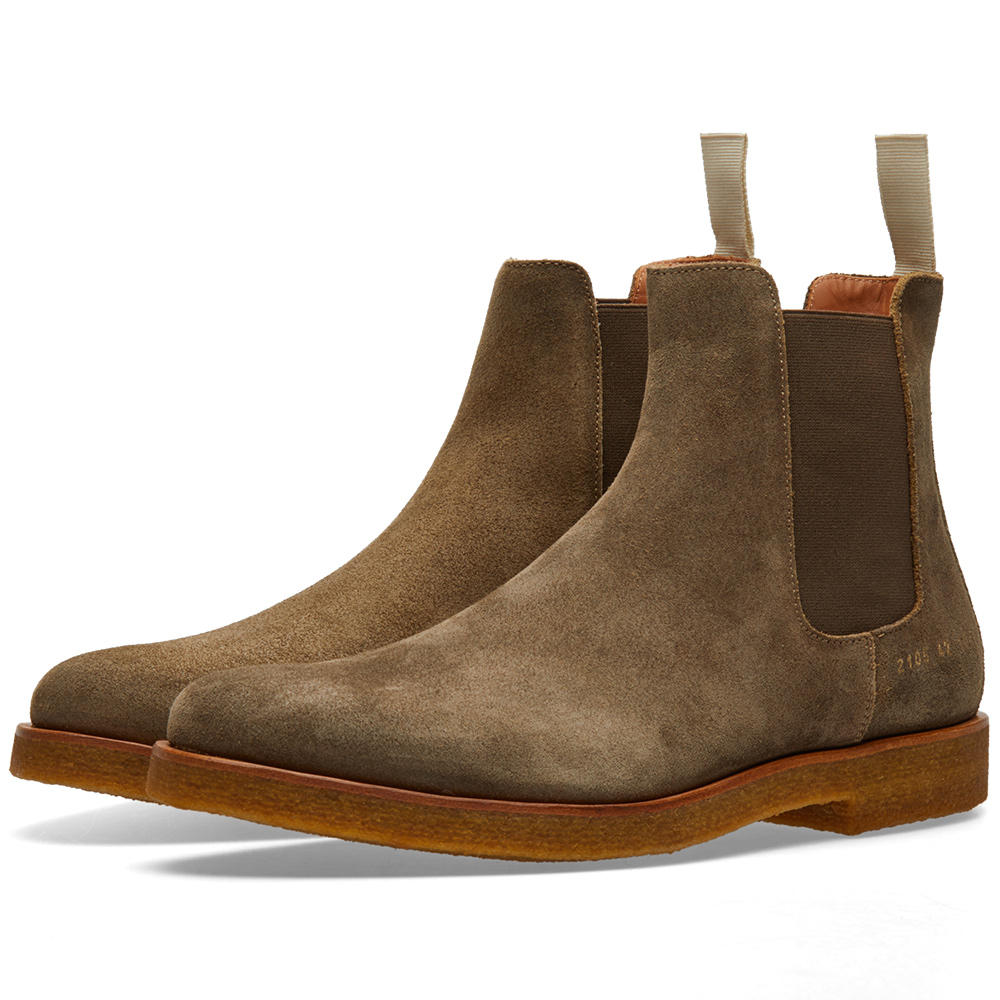 Common Projects Chelsea Boot Waxed Suede
