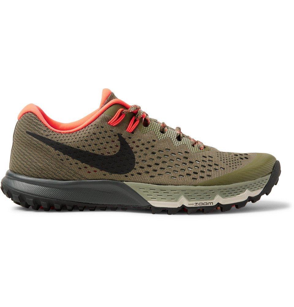 Nike Running - Zoom Terra Kiger 4 Flymesh Sneakers - Men - Green