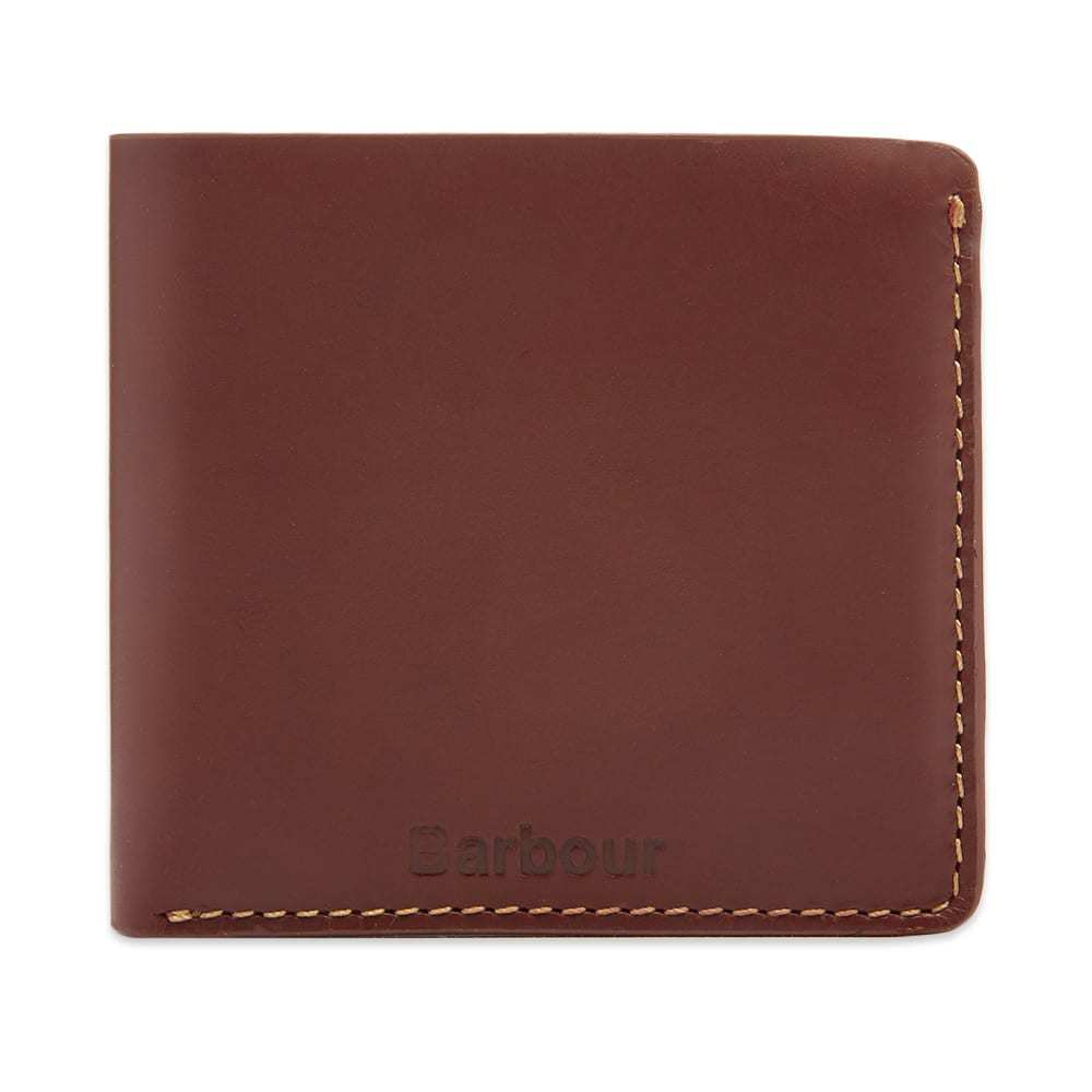 Photo: Barbour Hadleigh Leather Billfold Wallet