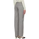 3.1 Phillip Lim Grey Merino Tweed Trousers