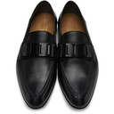 Dunhill Black Link Loafers