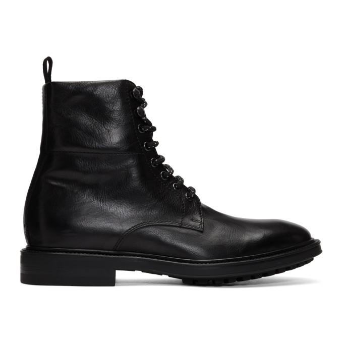 Photo: Paul Smith Black Arno Boots