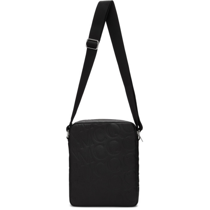 Photo: McQ Alexander McQueen Black Logo Messenger Bag