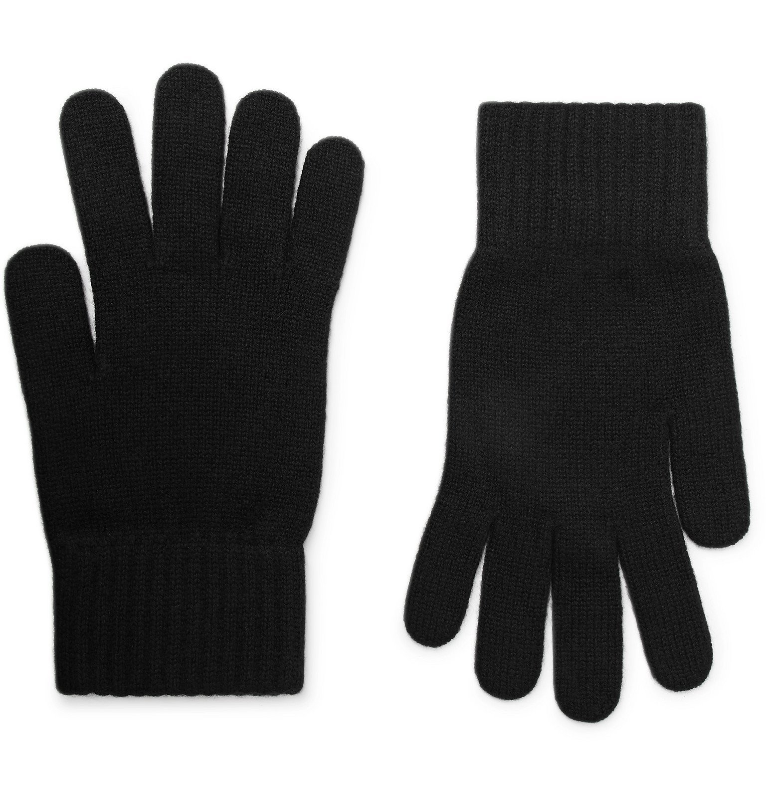 Photo: William Lockie - Cashmere Gloves - Black