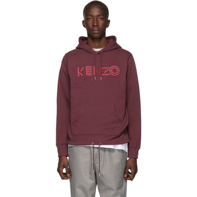 Photo: Kenzo Red Classic Hiking Hoodie