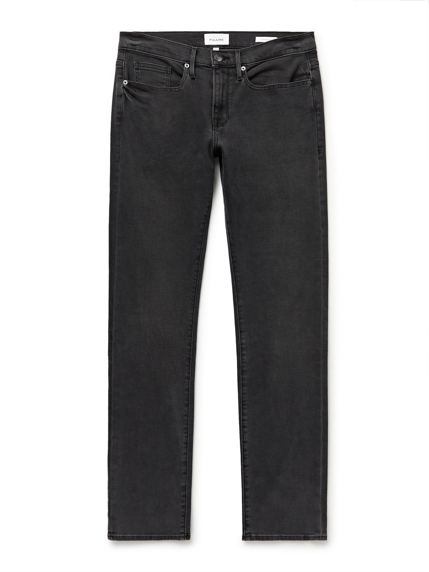FRAME - L'Homme Slim-Fit Denim Jeans - Gray
