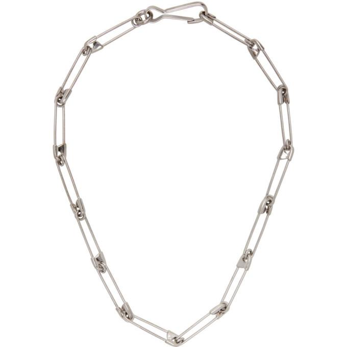 Photo: Balenciaga Silver Punk Necklace