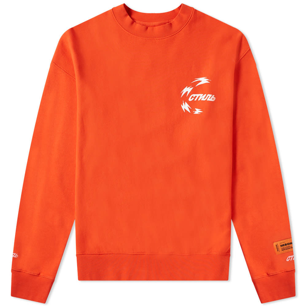 Photo: Heron Preston Chinese Heron Crew Sweat