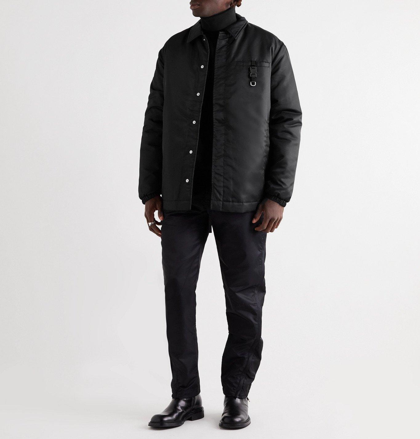 1017 ALYX 9SM - Buckle-Detailed Nylon Jacket - Black