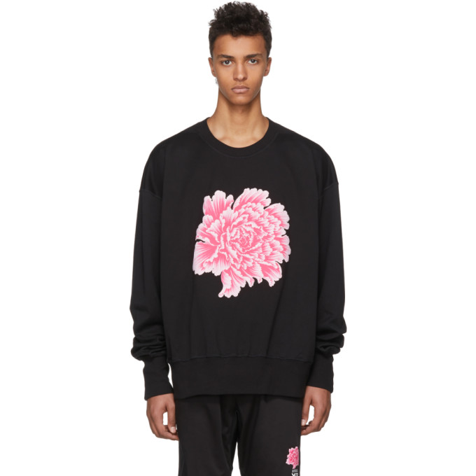 Photo: Y-3 Black James Harden Graphic Crew Sweatshirt