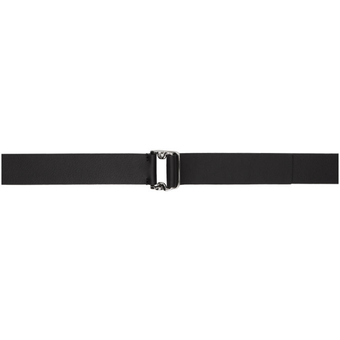 Photo: Giorgio Armani Black Double Ring Belt