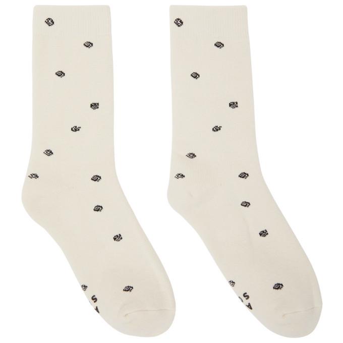 Photo: ADER error White Calli Tote Socks