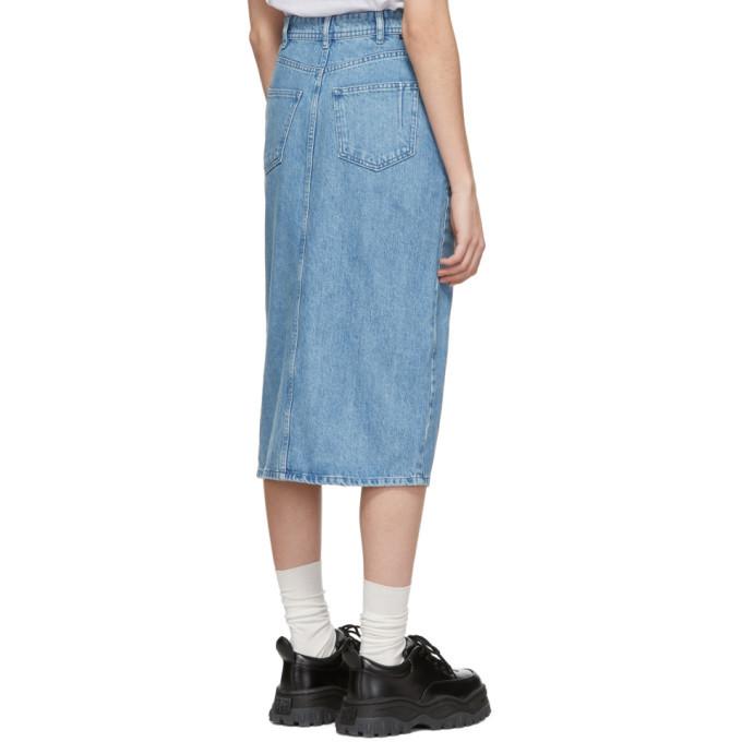 Won Hundred Blue Denim Anna Skirt