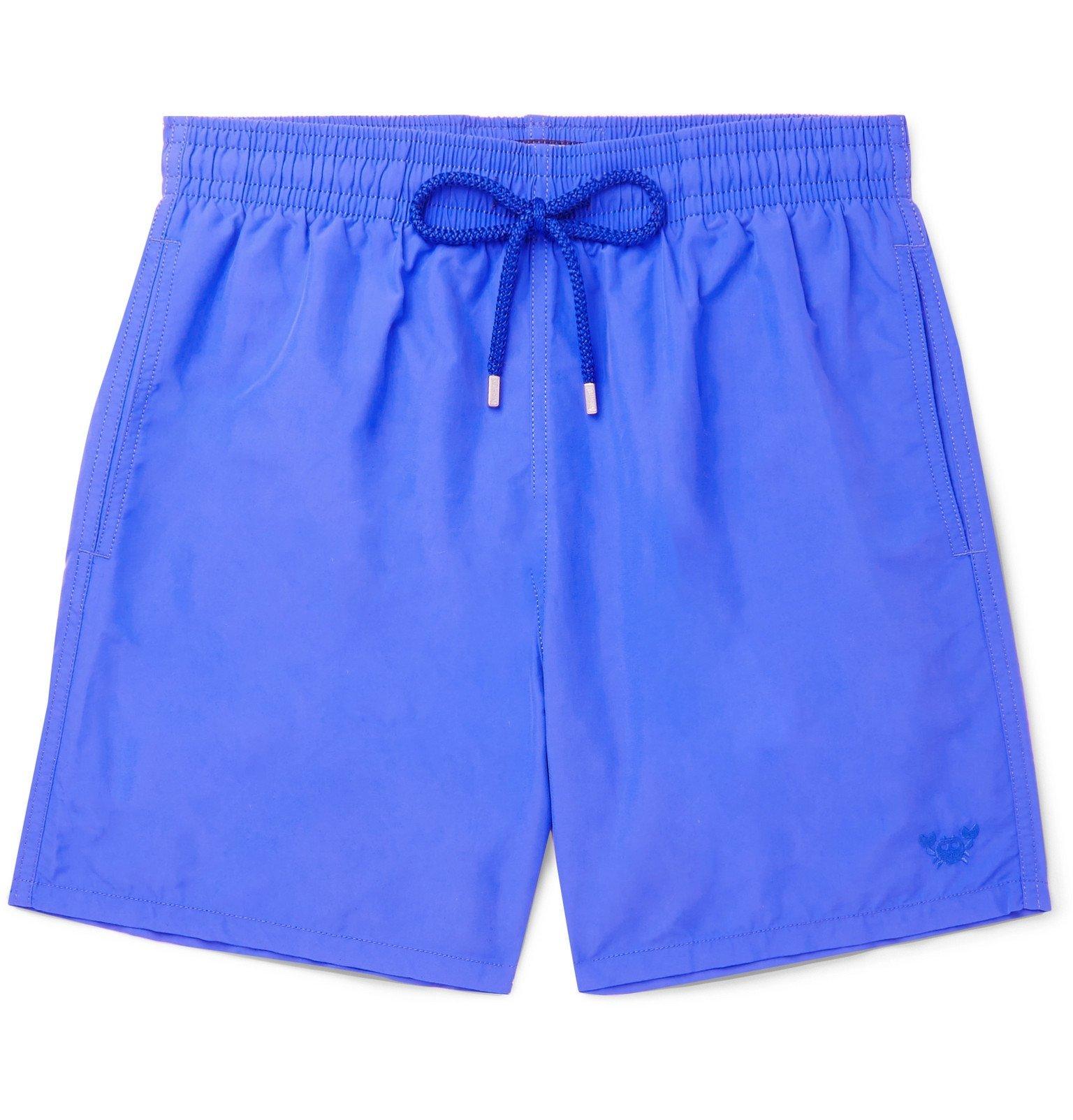 Photo: Vilebrequin - Moorea Mid-Length Swim Shorts - Blue