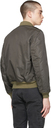 RRL Brown Bordon Bomber Jacket