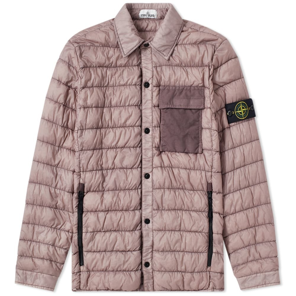 Photo: Stone Island Garment Dyed Down Filled Overshirt