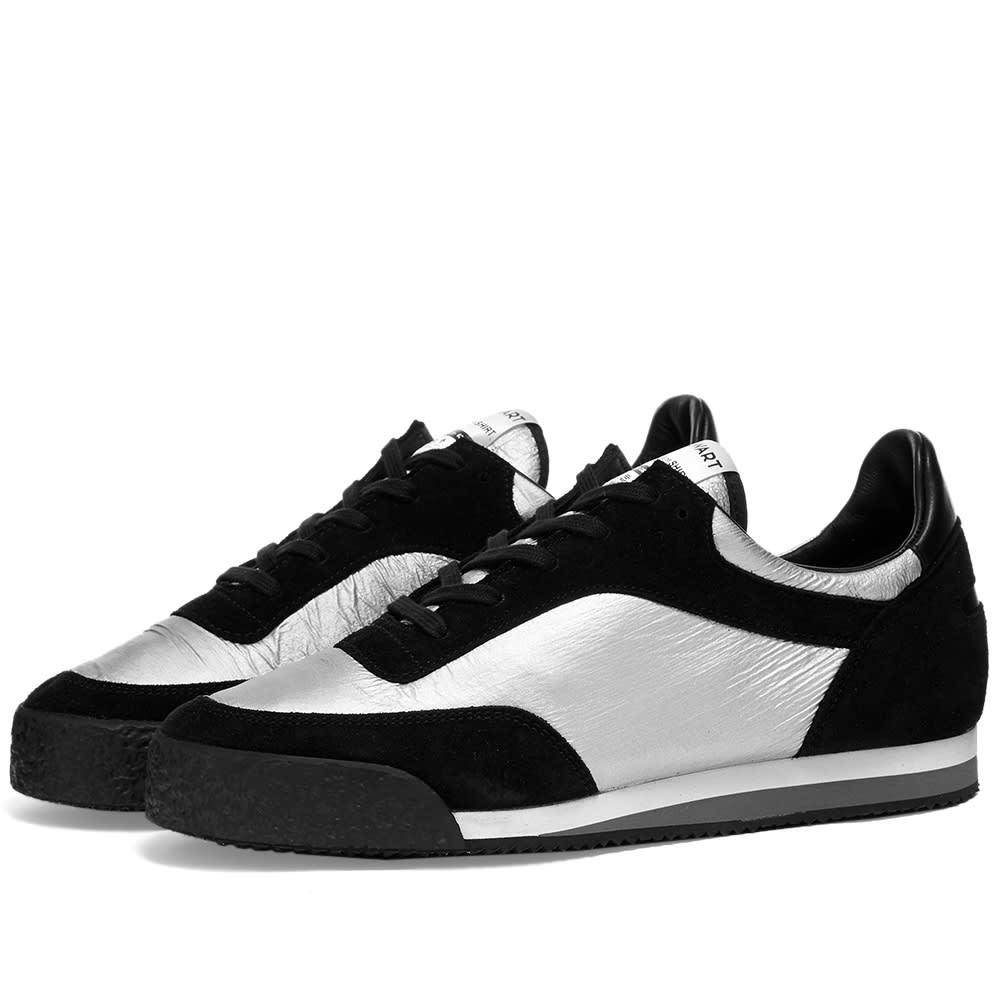 Photo: Comme des Garcons SHIRT x Spalwart Silver Pitch Sneaker