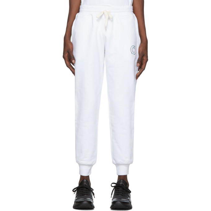 Photo: Casablanca White Essentials Lounge Pants