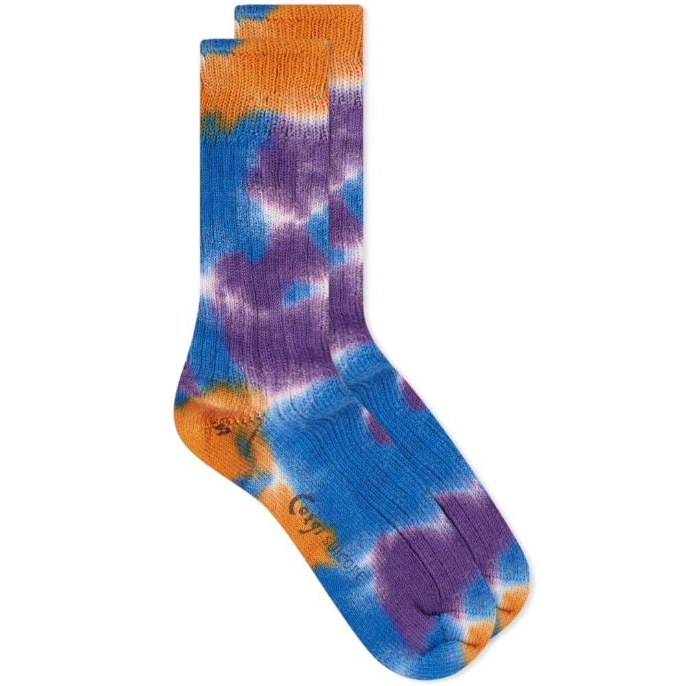 Photo: Suicoke x Corgi LUTEX Tie Dye Sock