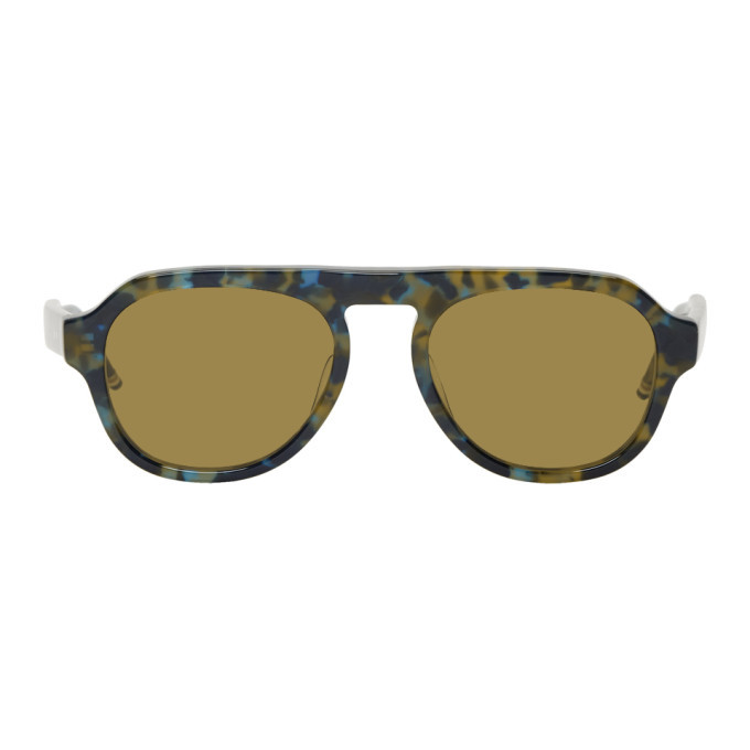 Photo: Thom Browne Tortoiseshell TBS416 Sunglasses