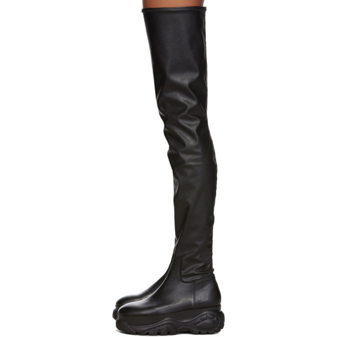 032c Black Buffalo London Edition Over-The-Knee Boots