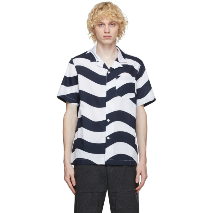 Photo: Wood Wood White Brandon Short Sleeve Shirt