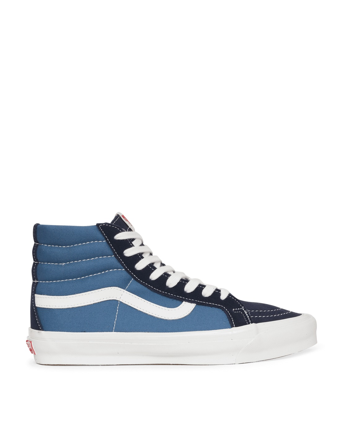 Photo: Vans Og Sk8 Hi Lx Sneakers Navy/Stvnvy