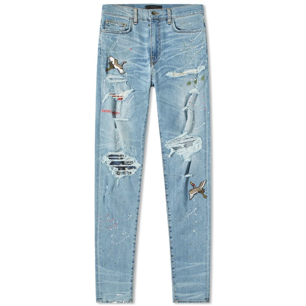 Photo: AMIRI Art Patch Jean