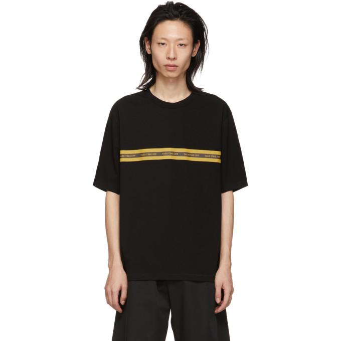 3.1 Phillip Lim Black Time Off T-Shirt
